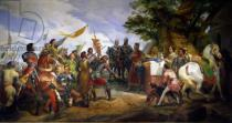 Emile Jean Horace Vernet - The Battle of Bouvines, 27th July 1214, 1827