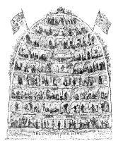 George Cruikshank - The British Beehive, 1867