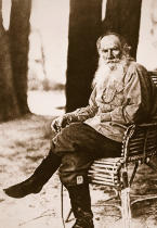 Russian Photographer - Tolstoy in his later years at his country estate