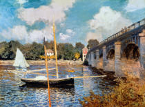 Claude Monet - The Bridge at Argenteuil, 1874