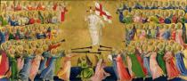 Fra Angelico - Christ Glorified in the Court of Heaven, 1423-24