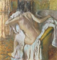 Edgar Degas - Woman drying herself, c.1888-92