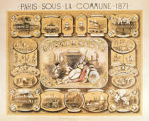 French School - Scenes from the Paris Commune, 1871