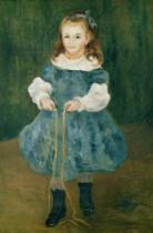 Pierre Auguste Renoir - Girl with a skipping rope, 1876