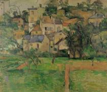 Paul Cézanne - The Hermitage at Pontoise, 1884