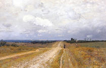 Isaak Ilyich Levitan - The Vladimirka Road, 1892