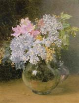 Maud Naftel - Spring Flowers in a Vase