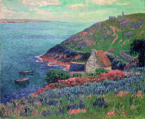 Henry Moret - The Bay of Biscay, Brittany
