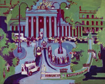 Ernst-Ludwig Kirchner - The Brandenburg Gate, Berlin, 1929