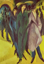 Ernst-Ludwig Kirchner - Women on the Street, 1915