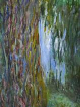 Claude Monet - Detail of Weeping Willow and the Waterlily Pond, 1916-19