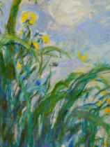 Claude Monet - Detail of The Yellow Iris