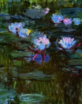 Claude Monet - Detail of Waterlilies, 1914-17