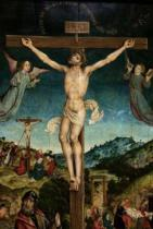 Albrecht Bouts - Christ on the cross