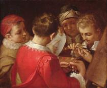 Annibale Carracci - Group of Artists
