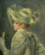 Pierre Auguste Renoir - The White Hat