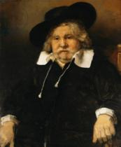 Harmensz van Rijn Rembrandt - Portrait of an old man, 1667