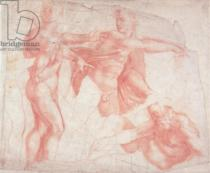 Michelangelo Buonarroti - Studies of Male Nudes