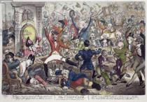 James Gillray - The Union Club