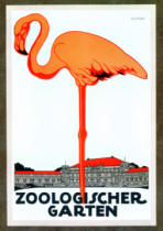 German School - Poster for the Zoological Garden, Berlin, 1927