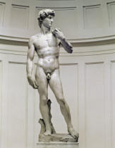 Unbekannt - David by Michelangelo Buonarroti (1475-1564), 1501-04