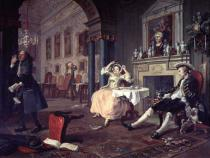 William Hogarth - Marriage a la Mode II - Shortly after the Marriage, before 1743