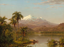 Frederick Edwin Church - Tamaca Palms, 1854
