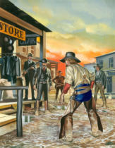Ron Embleton - Shoot out in the Wild West