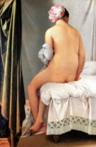 Jean-Auguste-Dominique Ingres - The Bather, called 'Baigneuse Valpincon', 1808