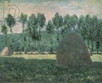 Claude Monet - Haystacks near Giverny, c.1884-89