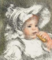 Pierre Auguste Renoir - Child with a Biscuit, 1899