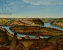 Edward K. Thomas - View of Fort Snelling, c.1850