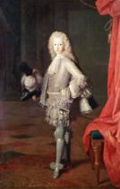 Miguel Angel Houasse - Portrait of Louis I of Spain, 1717