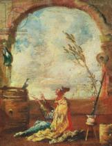 Francesco Guardi - The Poet and the Bird