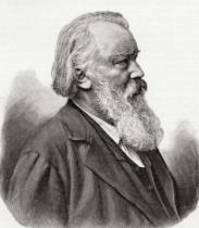 Anonymous - Johannes Brahms, 1833 – 1897. German composer and pianist. From Johannes Brahms by Heinrich reimann published 1903.
