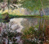Claude Monet - The Lake at Montgeron