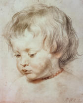 Peter Paul Rubens - Portrait of a Boy