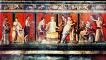 Römisch - The Hall of Mysteries, Pompeii, 79AD
