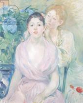 Berthe Morisot - The Hortensia, or The Two Sisters, 1894