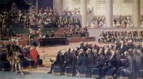Louis Charles Auguste Couder - Opening of the Estates General at Versailles on 5th May 1789, 1839