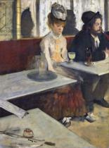 Edgar Degas - In a Cafe, or The Absinthe, c.1875-76