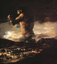 Francisco José de Goya y Lucientes - The Colossus, c.1808