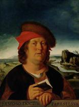Quentin Massys - Portrait presumed to be Paracelsus (1493-1541)