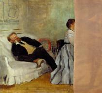 Edgar Degas - Monsieur and Madame Edouard Manet, 1868-69
