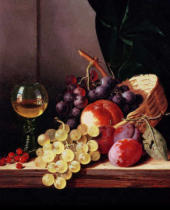 Edward Ladell - Grapes and plums