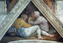 Michelangelo Buonarroti - Sistine Chapel Ceiling: The Ancestors of Christ