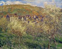 Claude Monet - Apple Trees in Blossom, 1879