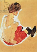 Egon Schiele - Seated Woman, 1911