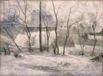 Paul Gauguin - Winter Landscape, 1879