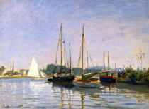 Claude Monet - Pleasure Boats, Argenteuil, c.1872-3